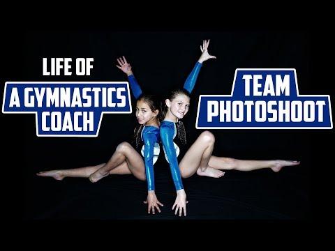 Life Of A Gymnastics Coach Team Photoshoot| Rachel Marie