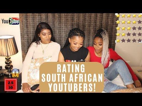 RATING SOUTH AFRICAN YOUTUBERS | Mihlali N, Zeexonline, Vongai M & MORE!!!! | ValerieM