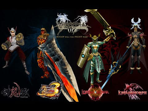 Models From Hack'n Slash Psp Games Into Dissidia Duodecim