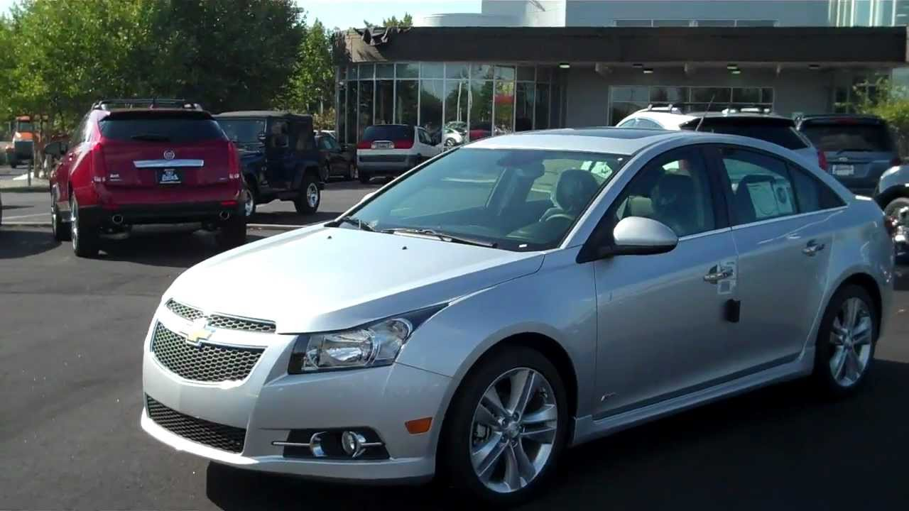 2013 chevrolet cruze ltz silver ice burns chevrolet rock hill sc youtube