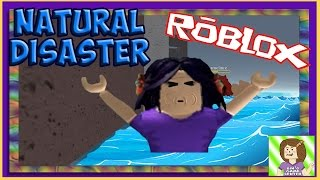 Oh Oh, So Not Cool... No, I'm Drowning!! Roblox Natural Disaster Survival! Bins Game Center