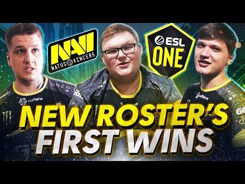 Первые Победы Нового Состава NAVI CS:GO на ESL One Cologne 2019