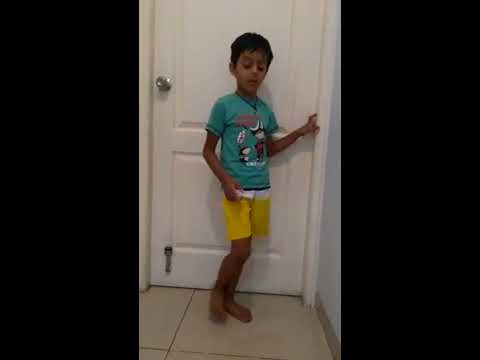 6 year old Shaurya sings Best Friends Forever song 😊 with some interesting Dance steps !!