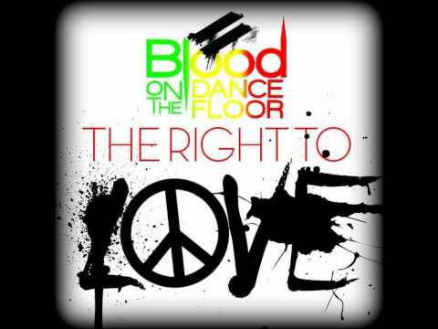 Blood On the Dance Floor - The Right To Love