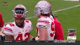 2016 Fiesta Bowl: #7 Ohio State Buckeyes vs #8 Notre Dame Fighting Irish Full Game 1080p60