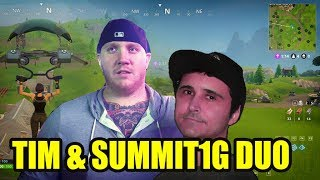 Summit1G & TimTheTatman DUO Fortnite - FULL STREAM GAMEPLAY