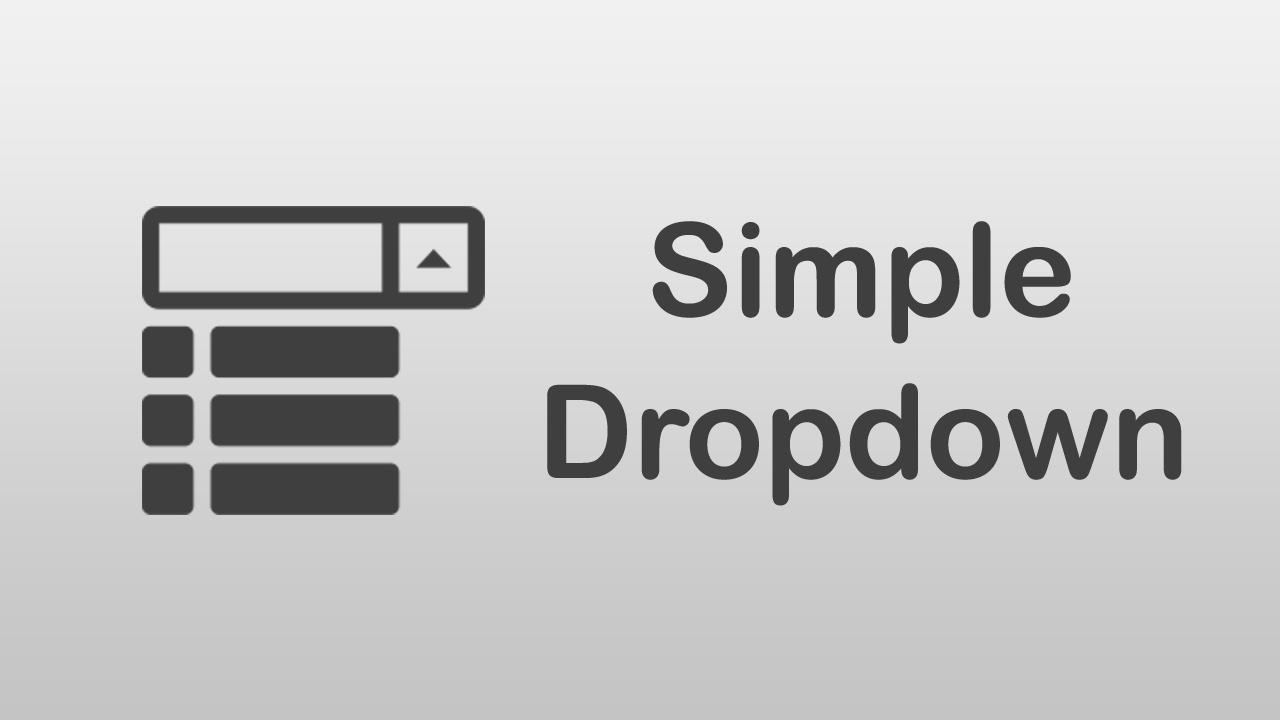 [ Arabic Tutorials ] How to Create Simple Dropdown Menu