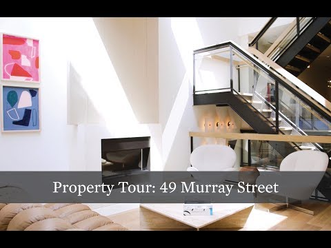Property Tour: Modern TriBeCa Triplex at 49 Murray St