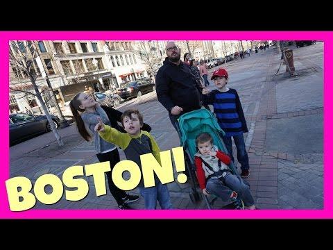 BOSTON MASSACHUSETTS! NEW ENGLAND ADVENTURE TRAVEL  VLOG!
