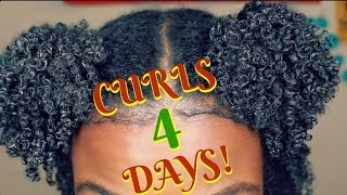 BEST Method To Define Type 4 Curls & Coils |Natural Hair|