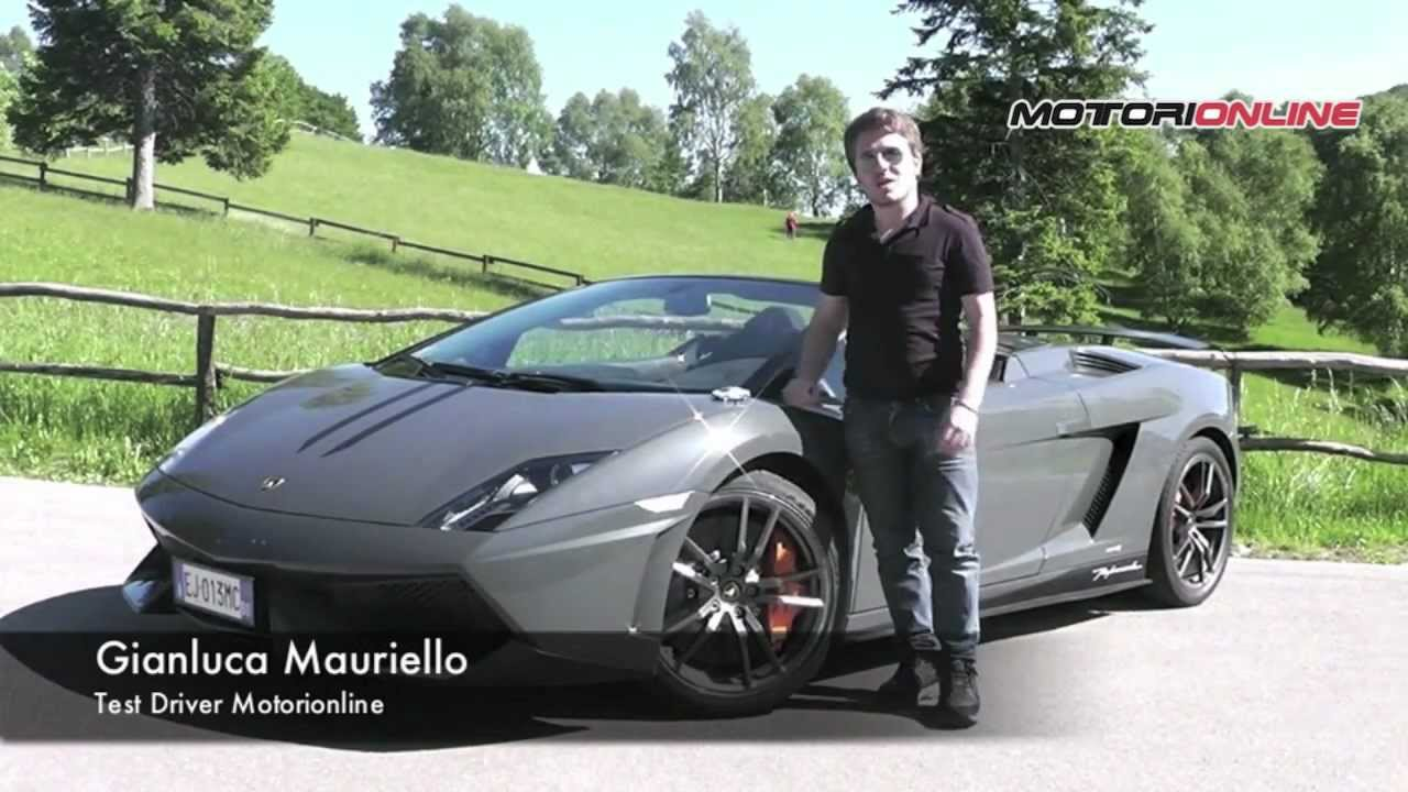 Lamborghini Gallardo LP 570 4 Spyder Performante   Test Drive   YouTube