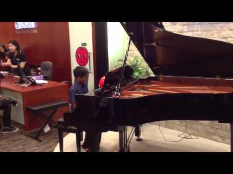 Krishi on Piano