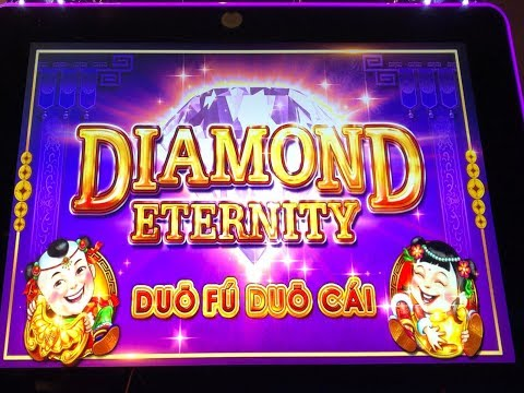 "★First Attempt !☆DIAMOND ETERNITY ""Duo Fu Duo Cai"" (WMS) Slot Free Play Live & The Voice & BG☆彡栗スロット"