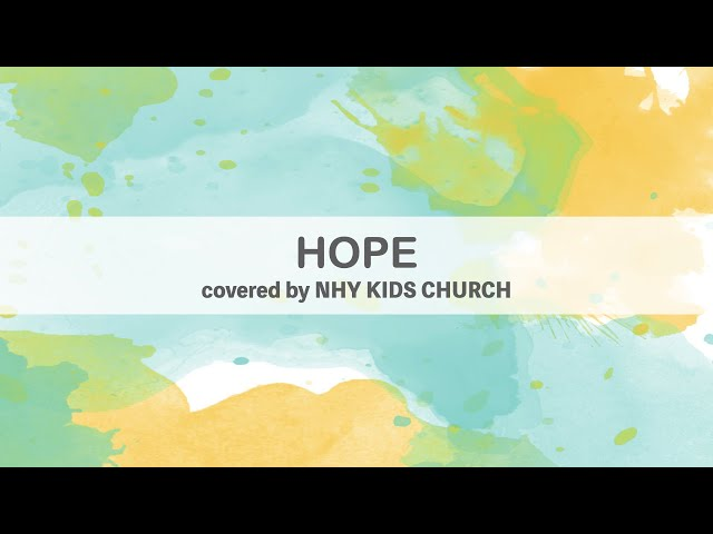 HOPE  (cover)