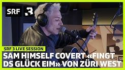 Sam Himself «Fingt ds Glück eim» – SRF 3 Live Session