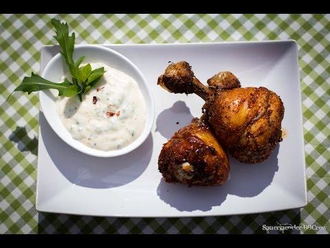 Folge45 - Chicken Drumsticks & White Alabama Sauce [Deutsches BBQ- Und Grill-Rezept]