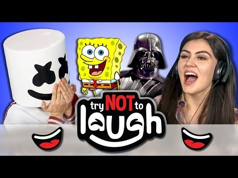 Try to Watch This Without Laughing or Grinning #75 (Ft. Marshmello) (REACT)