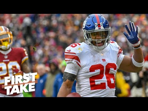 Saquon Barkley has the skillset to be the next Barry Sanders - Stephen A. Smith | First Take