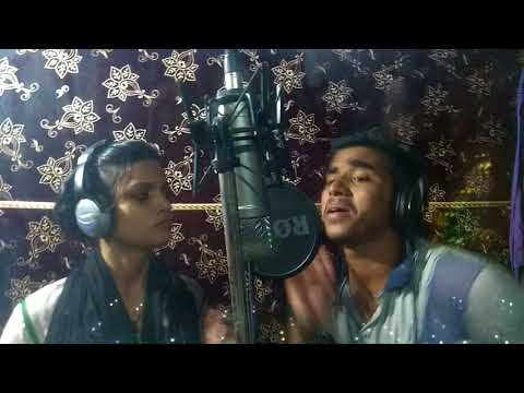 Recording time Chanda Sharma And Anirudh Aashik Ka gjb gana maee se bina poochle aaineee