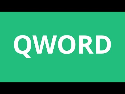 How To Pronounce Qword - Pronunciation Academy