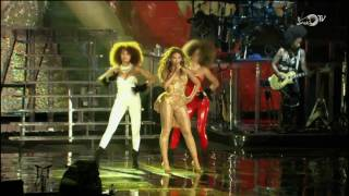 [1080p] Beyonce - Crazy In Love @ (F1 ROCKS Singapore 12.26.2009) HD