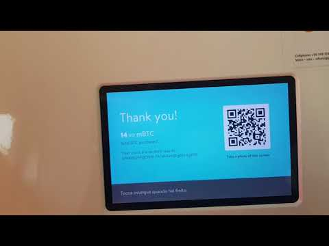 How To Buy Bitcoin though ATM Machine | Udine Italy