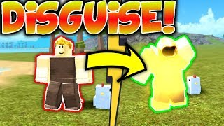 NOOB DISGUISE WITH GOD ARMOR!! *REVENGE* (Roblox Booga Booga)