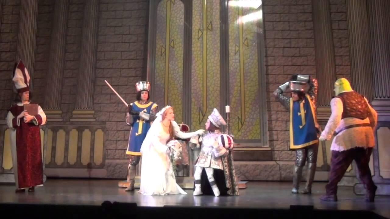 Shrek musical wedding