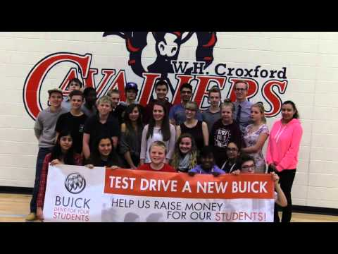 Croxford High School in Airdrie, Alberta - Buick Test Drive Event