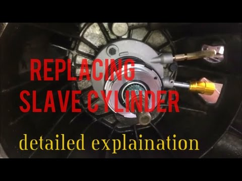 How To Install Replace Slave Cylinder Chevy S10 2 2l