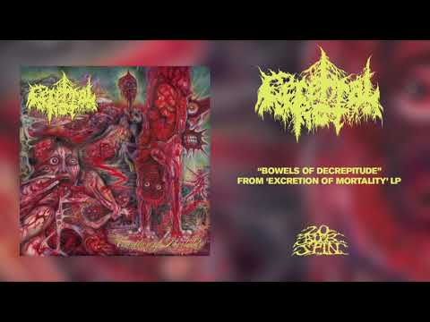 CEREBRAL ROT - Bowels Of Decrepitude (From 'Excretion Of Mortality' LP, 2021)