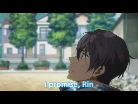 [Free! Episode 12] Rin and Haru's Love Confession