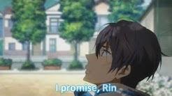 [Free! Episode 12] Rin and Haru's Love Confession