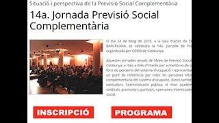 14 Jornada de Previsió Social Complementària (tarda) thumbnail