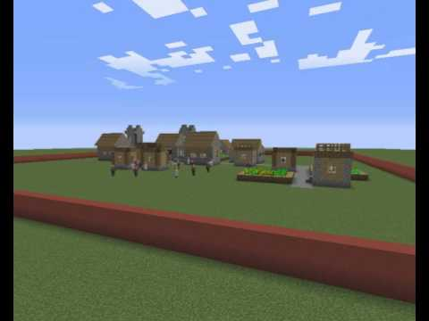 Population Density... with Minecraft!