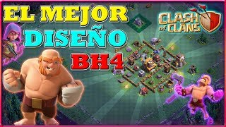 EL MEJOR DISEÑO DE BH4 + REPLAYS   ALDEA NOCTURNA   Clash of Clans
