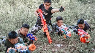 Nerf Guns War : Dangerous Missions SEAL TEAM Fight Robbery Crime Groups Nerf Guns Scary