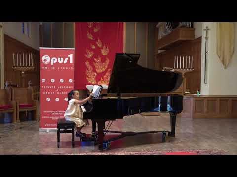 2018 Opus 1 Music Studio Summer Recital   - Ximena Meija  Piano