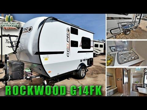 2018 FOREST RIVER ROCKWOOD G14FK Colorado RV Dealer Sales