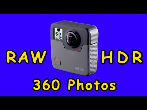 GoPro Fusion Bracketed RAW HDR 360 Images Complete Workflow Tutorial