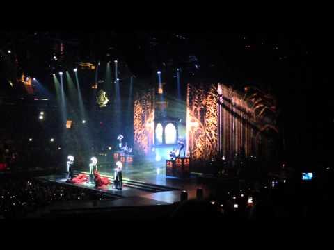 MDNA- Madonna entrance