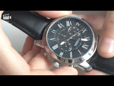 Review Unboxing Ceas Fossil Fs4812 Grant pVqMUSz