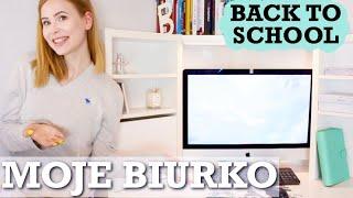 SPRZĄTAM I ORGANIZUJĘ MOJE BIURKO | back to school 2019