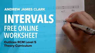 Intervals: Music Theory RCM Level 5 (3/4)