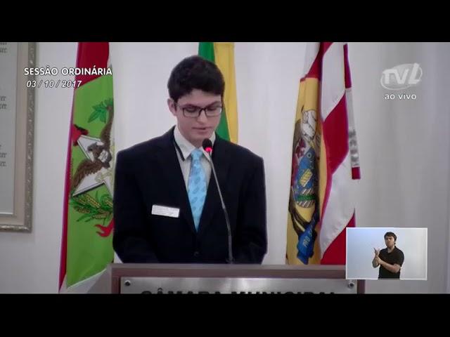 Aluno da Barão participa de encontro do G20