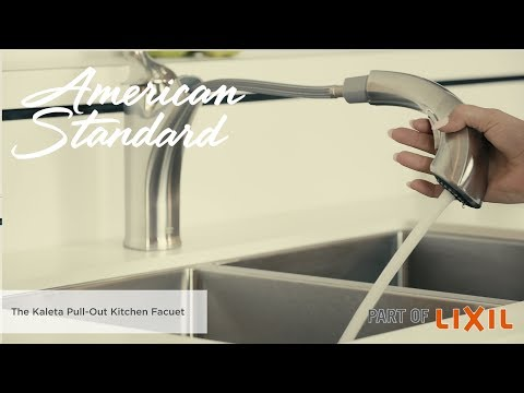 Introducing The Kaleta Pull-Out Kitchen Faucet By American Standard