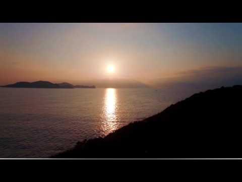 море-восход-закат-солнце-океан (free video)