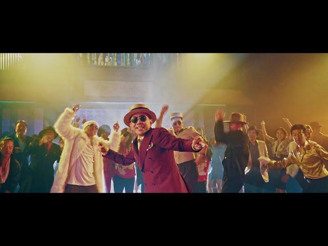 木梨憲武「GG STAND UP!! feat. 松本孝弘」Music Video (Short Ver.)