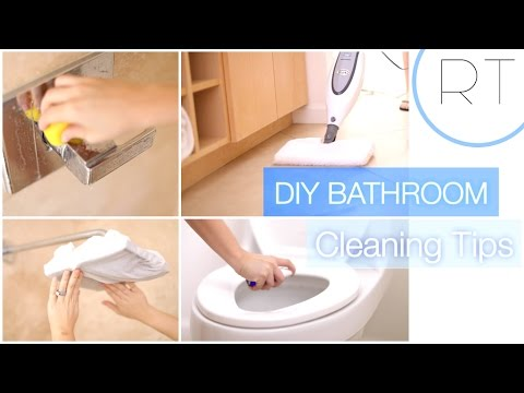 DIY Natural Bathroom Cleaning Tips YouTube - Best non toxic bathroom cleaner
