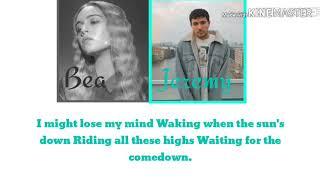 Comethru Jeremy Zucker Ft. Bea Miller lyrics